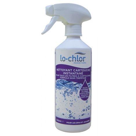 Nettoyant de filtre cartouche instantané pour piscine et spa - 500 ml