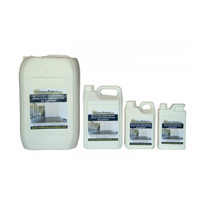 Nettoyant dégraissant acide pour préparation de support - 220 L Incolore