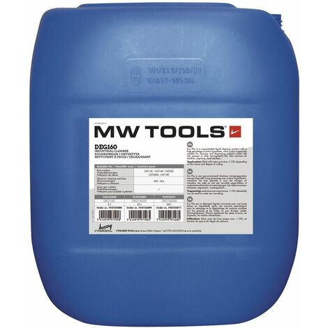 Nettoyant/dégraissant industriel MW-Tools DEG16025