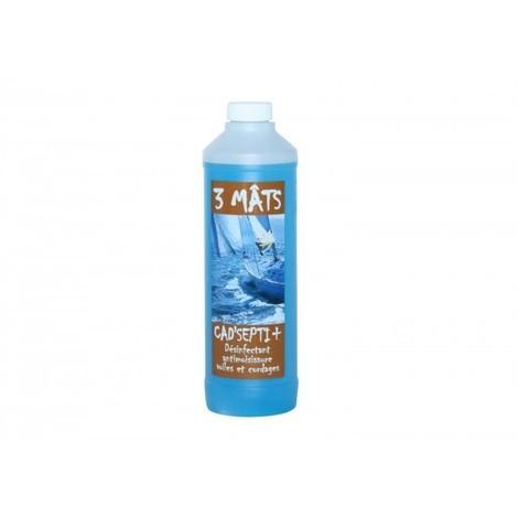 Nettoyant désinfectant anti-moisissures voiles et cordages bateaux Menthe