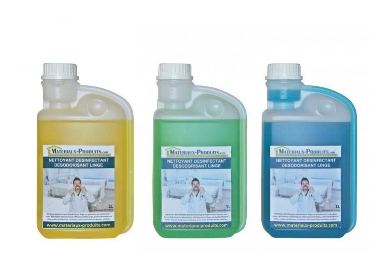 Matpro - Nettoyant désinfectant désodorisant linge Menthe - 20 L Menthe