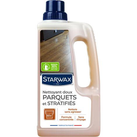"""main image of """"Nettoyant doux pour parquets et sols stratifiés 1L STARWAX"""""""
