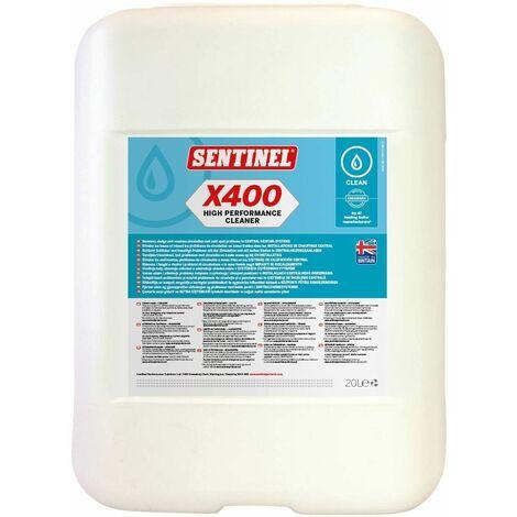 Nettoyant et désembouant pour installations de chauffage central X400 Bidon 20L
