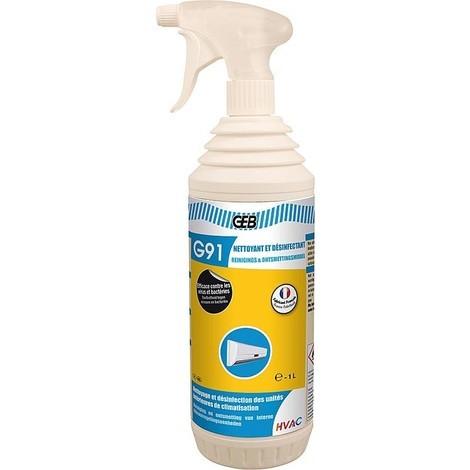 Nettoyant et desinfectant GEB G91 pour pompe de chaleur, bidon 5 litres