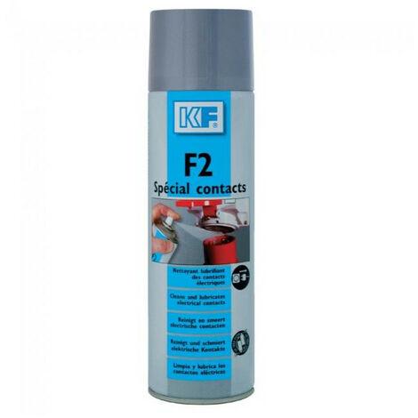 Nettoyant F2 spécial contacts, aérosol de 500 ml net
