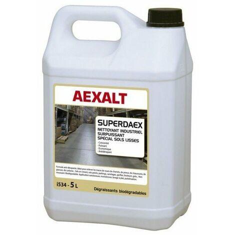 Nettoyant industriel decrassant superdaex pour sols bidon 5l