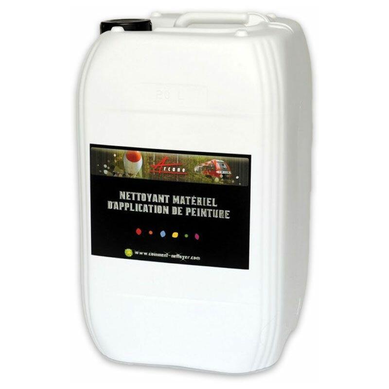 Diluant peinture universel phase aqueuse et solvantée Nettoyage matériel Pistolet NETTOYANT APPLICATION - ARCANE INDUSTRIES - Transparente - Liquide