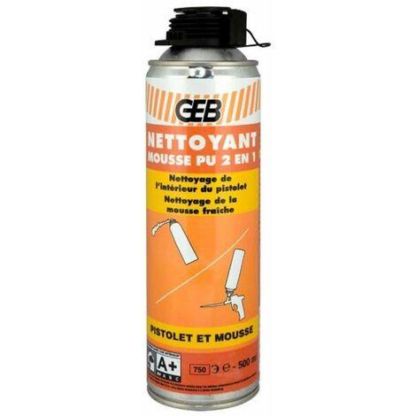 Nettoyant mousse polyuréthane 2 en 1 - GEB : 813281