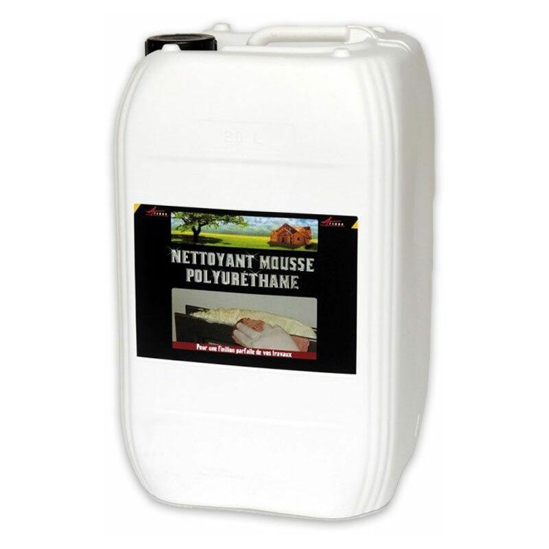Nettoyage mousse polyuréthane PU résidus traces embouts projections mains NETTOYANT MOUSSE POLYURETHANE - ARCANE INDUSTRIES - Transparente - Liquide