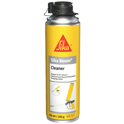 Nettoyant pour mousses polyuréthanes expansives - SIKA Boom Cleaner - 500ml