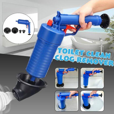 Nettoyant pour éviers d'égout pour tuyau de pression de pompe à air Nettoyant pour éviers de toilettes, lavabos, éviers, salles de bains, etc.