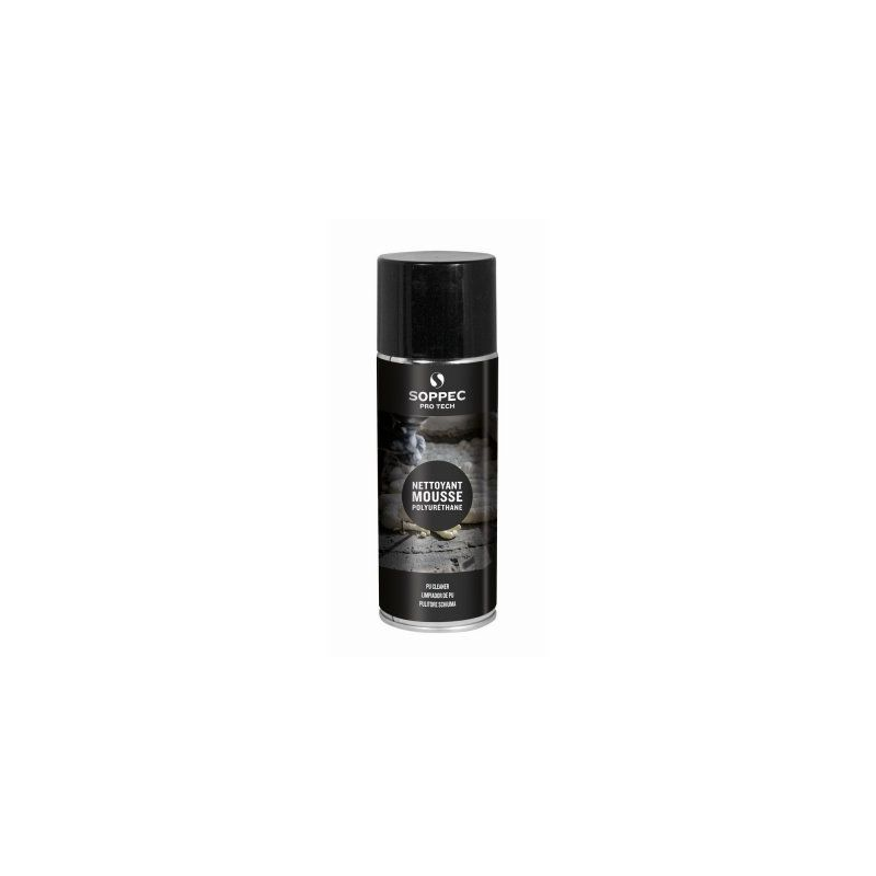 Nettoyant pour mousse polyuréthane 400 ml - Soppec