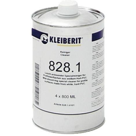 Nettoyant PVC élimination des souillures et préparation des surfaces au collage, bidon de 0, 800 litre