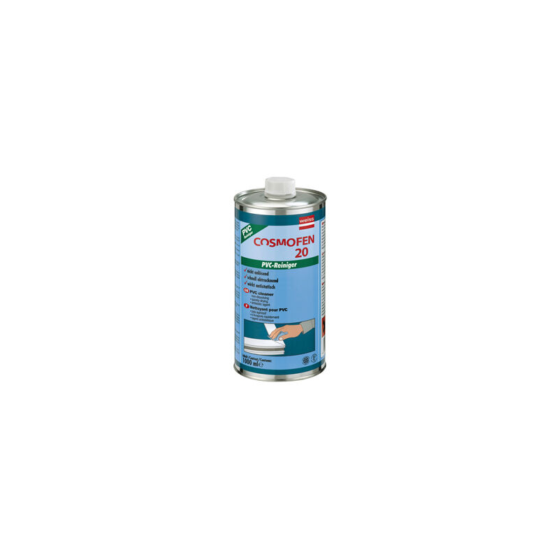 Nettoyant pvc non corrosif - Capacite : 1 litre - WEISS