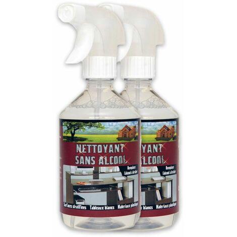 NETTOYANT SANS ALCOOL - Nettoyant PVC stratifié tableau blanc velleda Plastique Ordinateur Téléphone Télévison TV