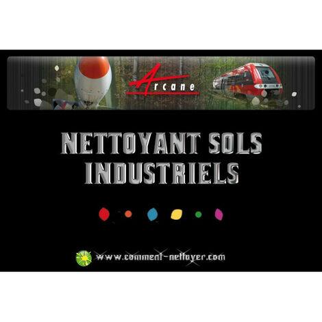 NETTOYANT SOLS INDUSTRIELS