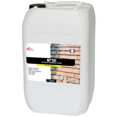 Nettoyant toiture tout support - NET'TOIT ACTION ULTRA RAPIDE