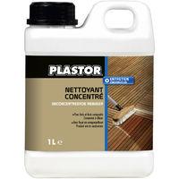Nettoyer sa terrasse en bois et bois composite : Nettoyant concentré Plastor (1L)