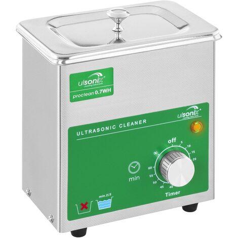 Nettoyeur A Ultrasons Appareil Nettoyage Pression Minuterie 0 7 L 60 W 40Khz Pro