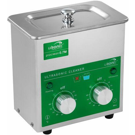 Nettoyeur À Ultrasons Bain De Nettoyage Laboratoire Inox 60W 40Khz 0.7L Ulsonix