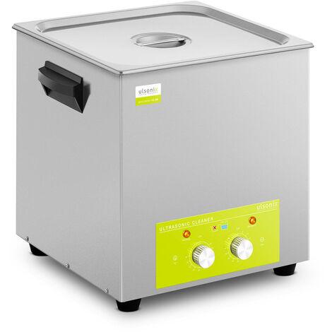 Nettoyeur à ultrasons Bain Ultrason Bac Sonicateur Cuve Ulsonix 15L Puissance Ultrason 360W Inox