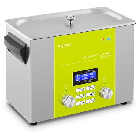 Nettoyeur à ultrasons Bain Ultrason Bac Sonicateur Cuve Ulsonix 4L Puiss. Ultrason 160W Inox