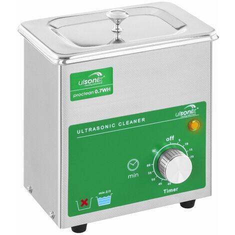Nettoyeur bac machine ultrason professionnel 0,7 litres
