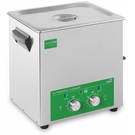 Nettoyeur bac machine ultrason professionnel 10 litres 180 watts