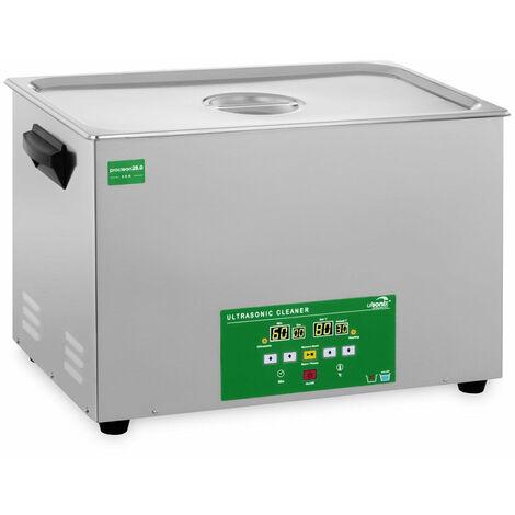 Nettoyeur bac machine ultrason professionnel 28 litres 480 watts