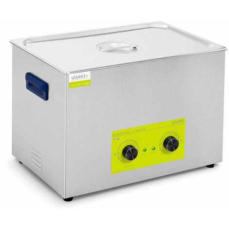 Nettoyeur bac machine ultrason professionnel 30 litres 600 watts