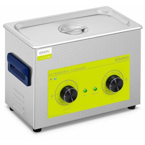 Nettoyeur bac machine ultrason professionnel 4,5 litres 120 watts