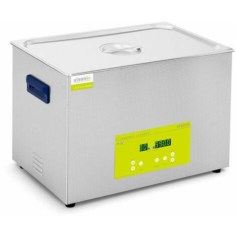 Nettoyeur bac machine ultrason professionnel dégazage 30 litres