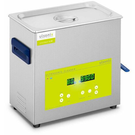 Nettoyeur bac machine ultrason professionnel dégazage 6,5 litres