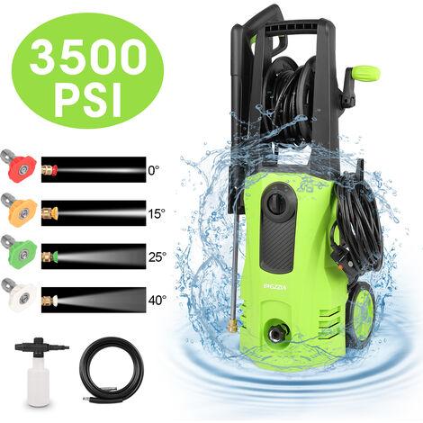 Nettoyeur haute pression - 165 Bar Électrique/Très Puissant - 2000W Control- Livré avec kit d'accessoires complet Vert 510 L / h