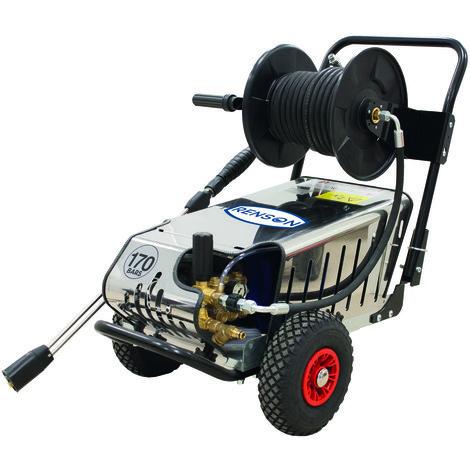 Nettoyeur haute pression Renson Silvertrio avec total stop et enrouleur 15/200 Origine
