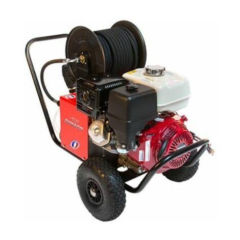 Nettoyeur haute pression thermique avec enrouleur DIMACO 13cv 900l/h 240 bars moteur HONDA - TSL15240H - -