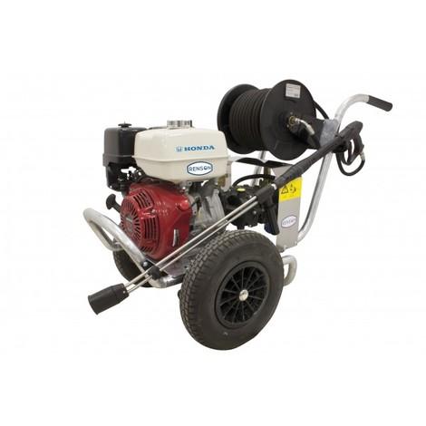 Nettoyeur haute pression thermique Renson avec enrouleur 200 bars 1080l/h Origine