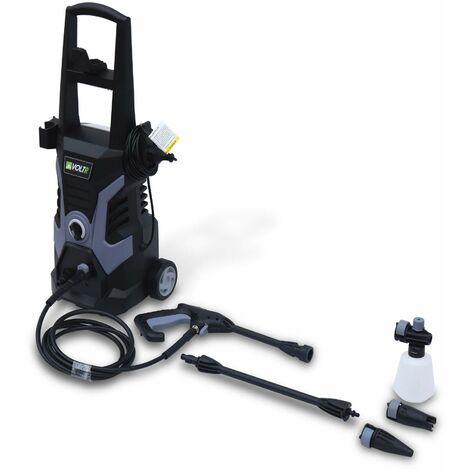 Nettoyeur haute pression VOLTR 135 bars 1700W + set d'accessoires, avec poignée roues et start stop auto