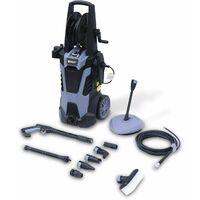 Nettoyeur haute pression VOLTR 165 bars 2200W + set d'accessoires complet, roulettes, enrouleur et start and stop