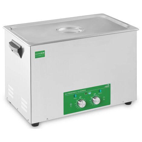 Nettoyeur Ultrason Bac A Ultrason Bain Nettoyage Ultrason 28L 480W Basic Eco