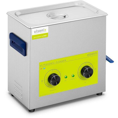 Nettoyeur Ultrason Num'rique Professionnel Minuteur Acier Inox 6,5L 180w 40kHz