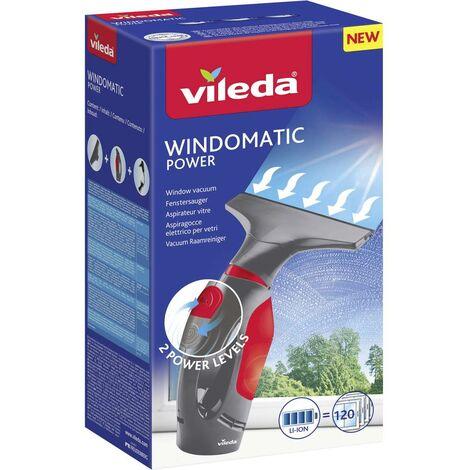 Nettoyeur vitres Vileda Windowmatic POWER 153233 gris, rouge 1 pc(s)