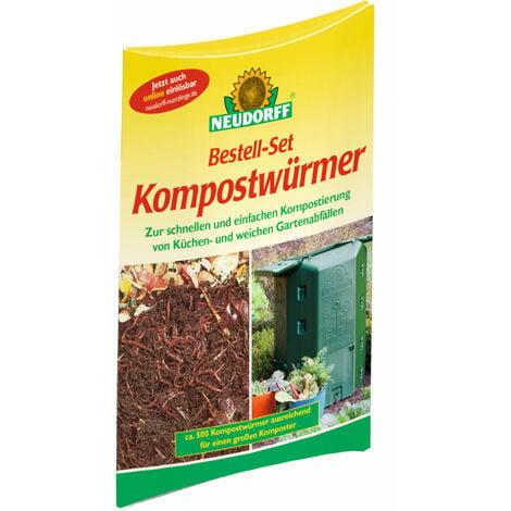 Neudorff - Bestell-Set Kompostwürmer