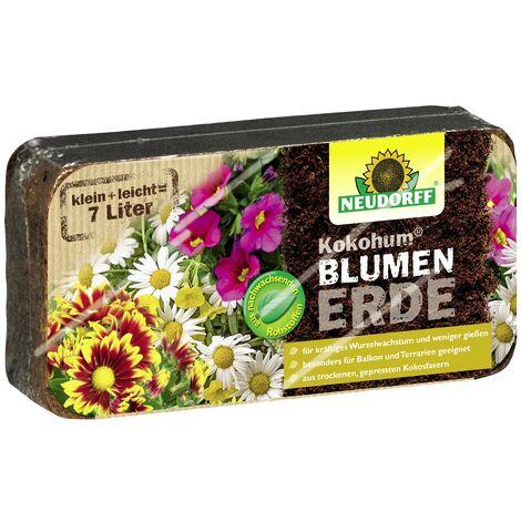 NEUDORFF® Kokohum® BlumenErde 1 Brikett ergibt 7 Liter