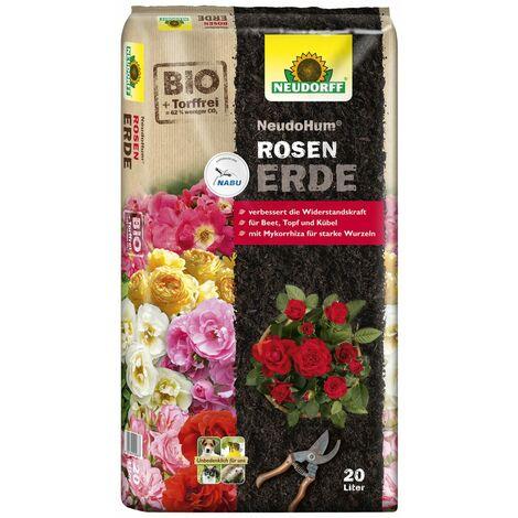 NEUDORFF® NeudoHum® RosenErde 20 Liter torffrei