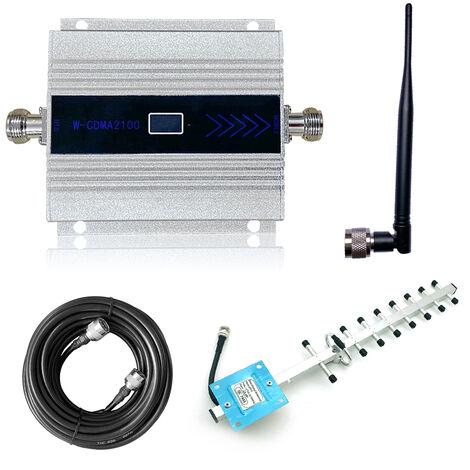 Neuf unit¨¦s + petite antenne, amplificateur de signal de t¨¦l¨¦phone portable, amplificateur de signal, norme europ¨¦enne