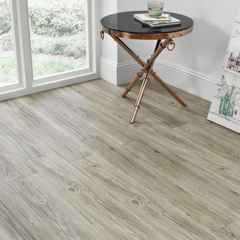 [neu.haus] Suelo de vinilo (1m²) PVC autoadhesivo roble claro mate (7 láminas = 0,975 m2) muy estructurado - suelo de diseño - revestimiento de suelo