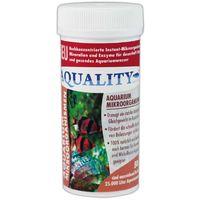 NEUHEIT: AQUALITY Aquarium Mikroorganismen 50 g (GRATIS Versand in DE - Hochkonzentrierte Instant-Mikroorganismen, Mineralien, Enzyme - Stabiles Gleichgewicht - Abbau Schadstoffe)