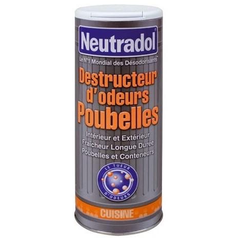 NEUTRADOL - Destructeur d'odeur pour poubelle - 350 g