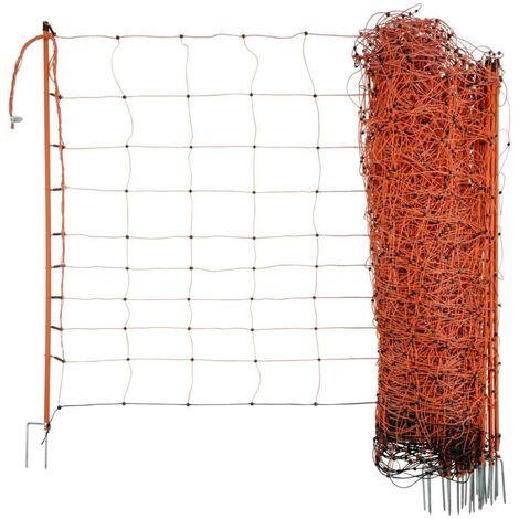 Neutral Filet électrifié pour moutons OviNet 108 cm Orange